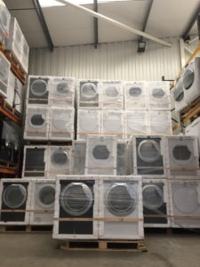 Pallets of Washers & Dryers